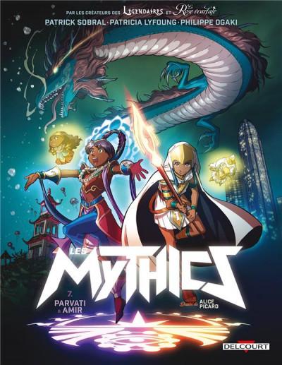 Couverture Les mythics tome 7
