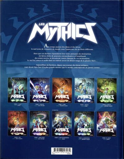 Dos Les mythics tome 7