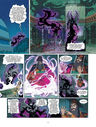 Page 2 Les mythics tome 7