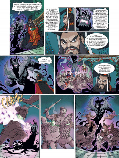 Page 3 Les mythics tome 7