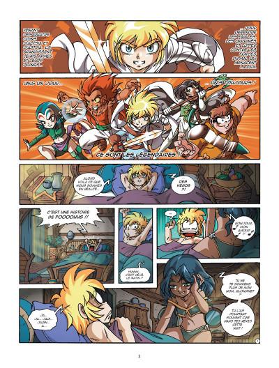 Page 1 Les légendaires tome 22