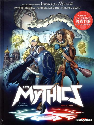 Couverture Les mythics tome 8