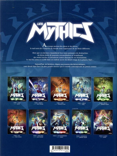 Dos Les mythics tome 8