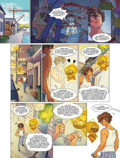 Page 8 Les mythics tome 8