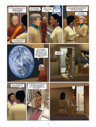 Page 4 Centaurus tome 5 + ex-libris offert