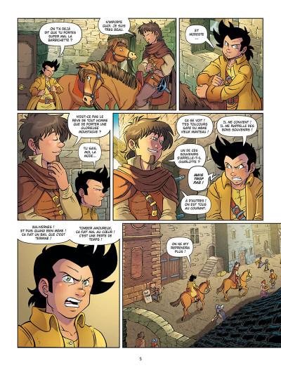 Page 8 Un pour tous ! tome 4