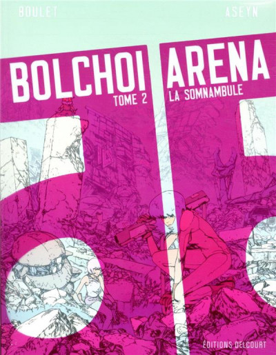 Couverture Bolchoi arena tome 2