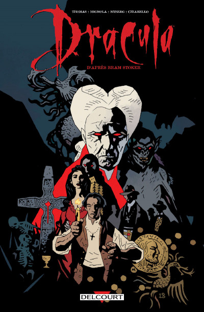 Couverture Dracula - édition couleur