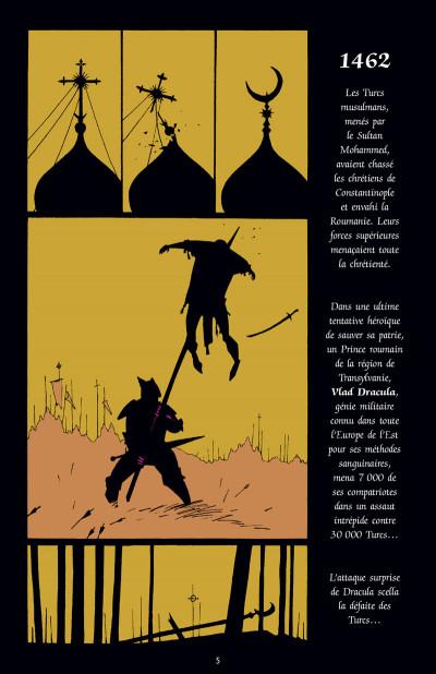 Page 1 Dracula - édition couleur