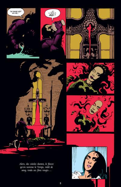 Page 4 Dracula - édition couleur