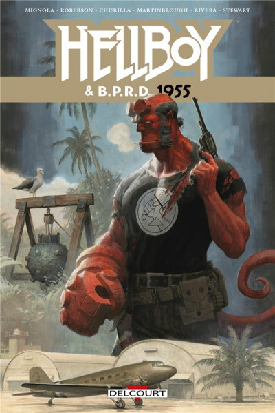 Couverture Hellboy & B.P.R.D. tome 4