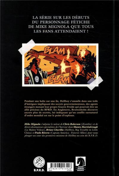 Dos Hellboy & B.P.R.D. tome 4