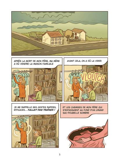 Page 5 Une vie toute tracée