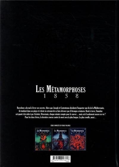 Dos Les métamorphoses 1858 tome 3