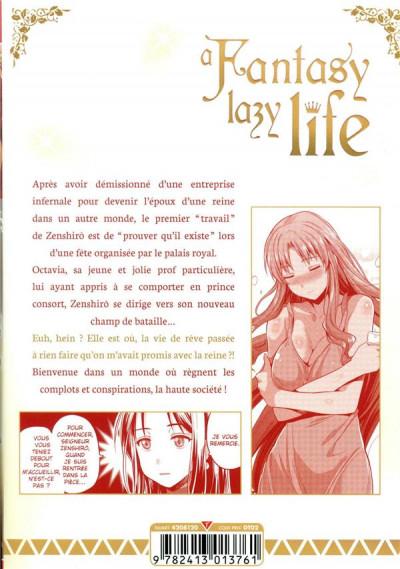 Dos A fantasy lazy life tome 2