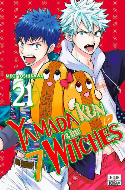 Couverture Yamada Kun & the 7 witches tome 21