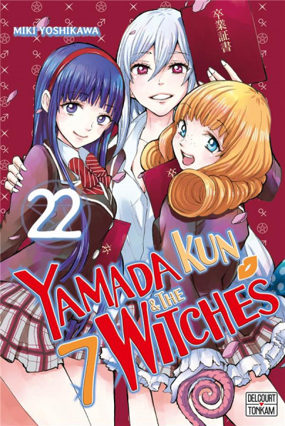 Couverture Yamada kun & the 7 witches tome 22