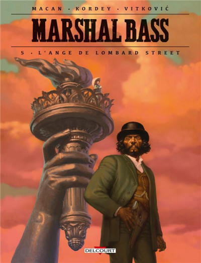 Couverture Marshal Bass tome 5