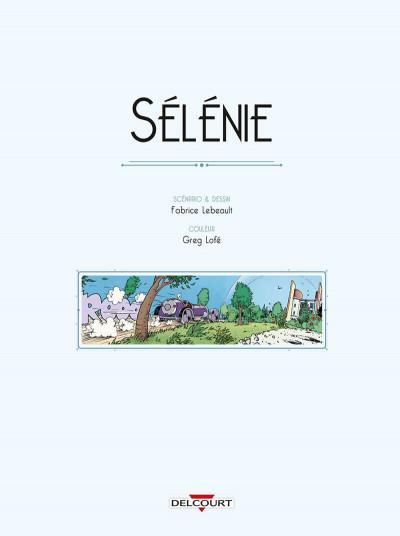 Page 1 Sélénie + ex-libris offert