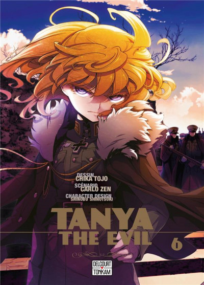 Couverture Tanya the evil tome 6