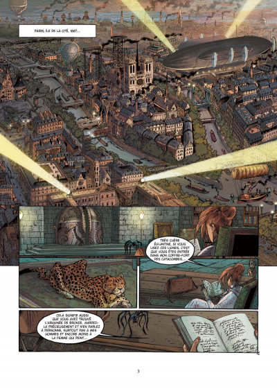 Page 1 Hauteville house tome 17