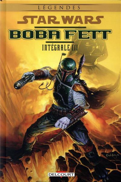 Couverture Star wars - Boba Fett - intégrale tome 3