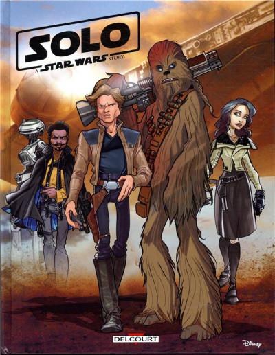 Couverture Star wars - Solo (jeunesse)