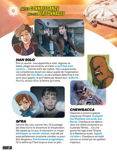 Page 2 Star wars - Solo (jeunesse)