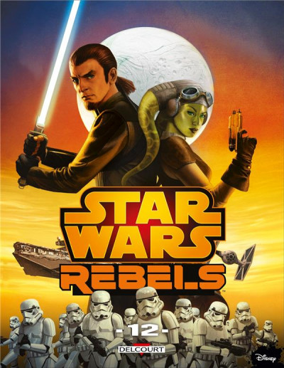 Couverture Star Wars - rebels tome 12