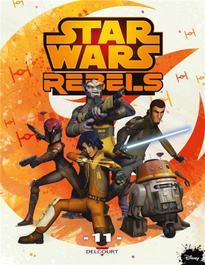 Couverture Star Wars - rebels tome 11