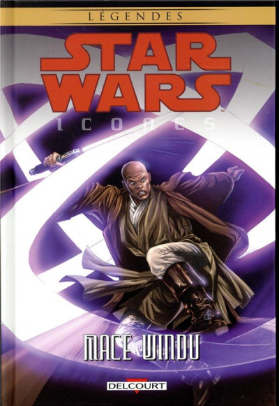 Couverture Star wars - Icones - tome 9 - Mace Windu