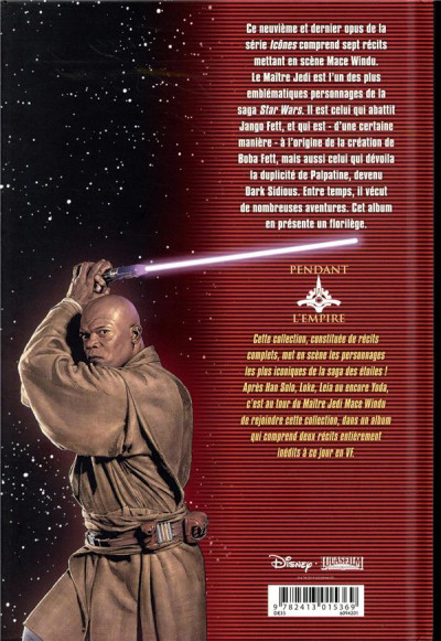 Dos Star wars - Icones - tome 9 - Mace Windu