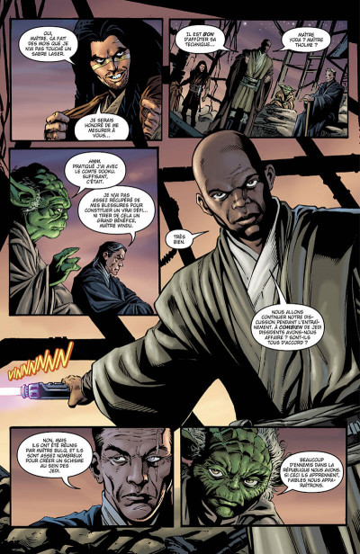 Page 8 Star wars - Icones - tome 9 - Mace Windu
