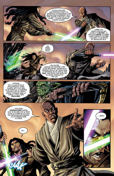 Page 9 Star wars - Icones - tome 9 - Mace Windu