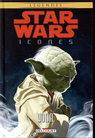 Couverture Star Wars - Icones tome 8 - Yoda