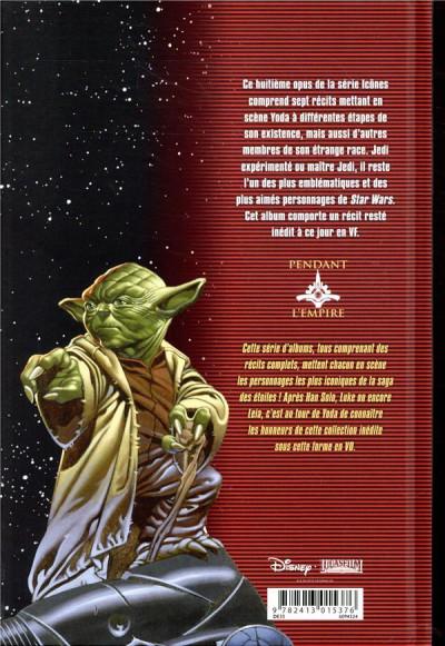 Dos Star Wars - Icones tome 8 - Yoda