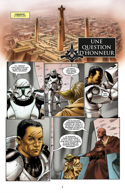 Page 5 Star Wars - Icones tome 8 - Yoda