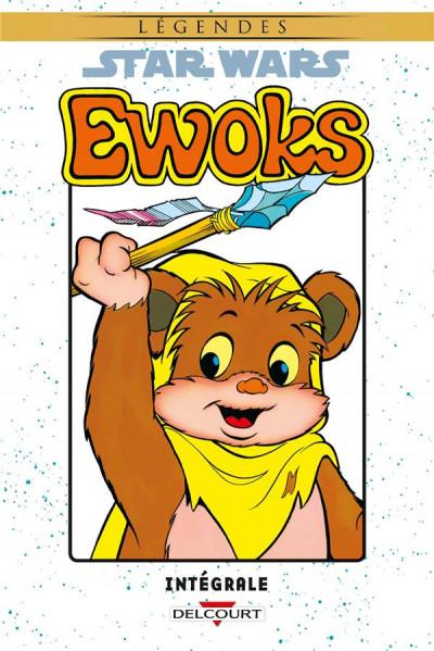 Couverture Star wars - Ewoks intégrale