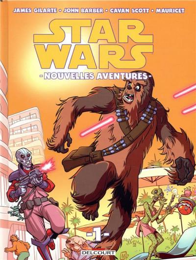 Couverture Star wars - Nouvelles aventures tome 1
