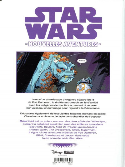 Dos Star wars - Nouvelles aventures tome 1