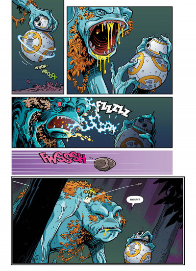 Page 5 Star wars - Nouvelles aventures tome 1