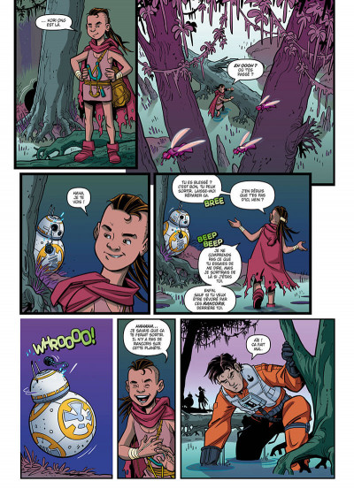 Page 7 Star wars - Nouvelles aventures tome 1