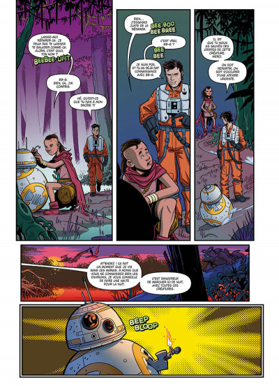 Page 8 Star wars - Nouvelles aventures tome 1