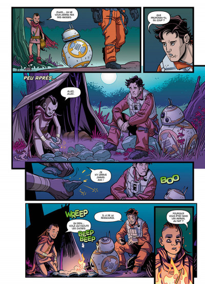 Page 9 Star wars - Nouvelles aventures tome 1