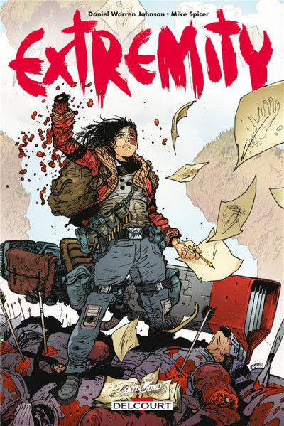 Couverture Extremity + ex-libris offert