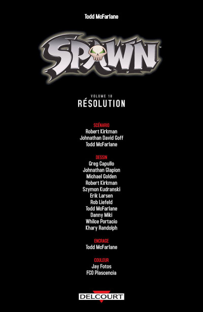 Page 3 Spawn tome 18