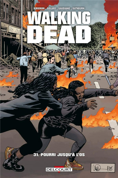 Couverture Walking dead tome 31