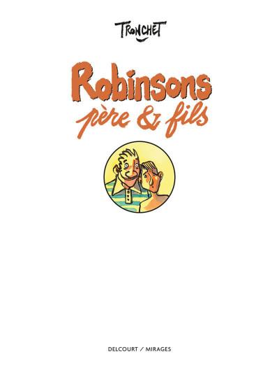 Page 1 Robinsons, père & fils