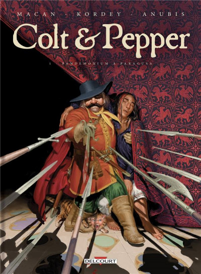 Couverture Colt & pepper tome 1