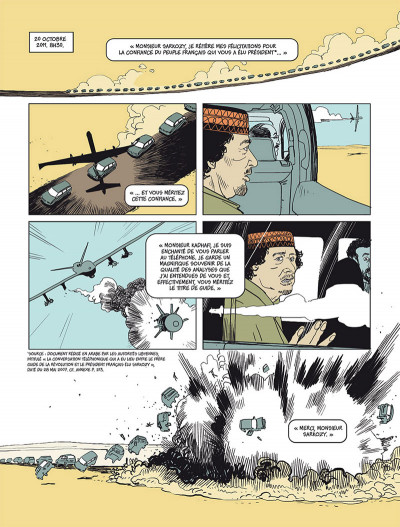 Page 1 Sarkozy - Kadhafi - Des billets et des bombes